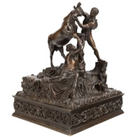 a renaissance-style bronze figural group by anonymous (19)