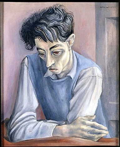 portrait of john minton by michael ayrton
