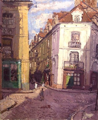la rue cousin, dieppe by walter richard sickert