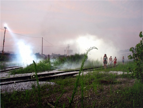 production still railway children from beneath the roses by gregory crewdson
