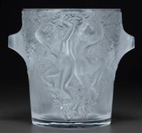 ganymede wine cooler by rené lalique