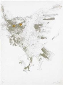 eagle owl by elisabeth frink
