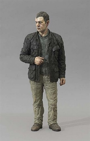 untitled (man in leather jacket) by sean henry