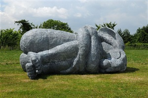 curled up by sophie ryder