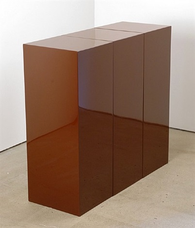 brown block in three parts by john mccracken