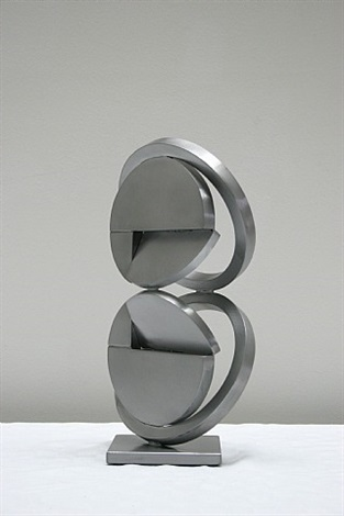 model for folded circle ring column by fletcher benton