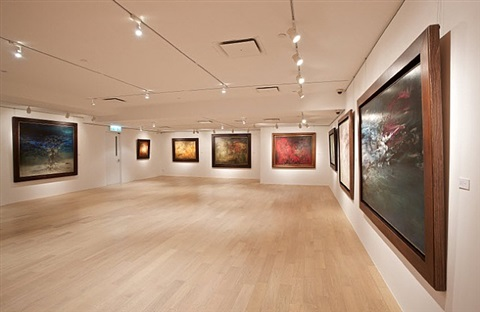 gallery view by zao wou-ki