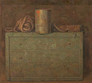 rope, tin can and screw by kirill doron