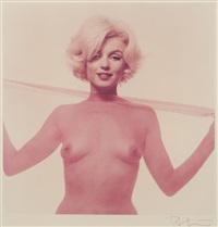 not bad for 36 (from the last sitting) by bert stern