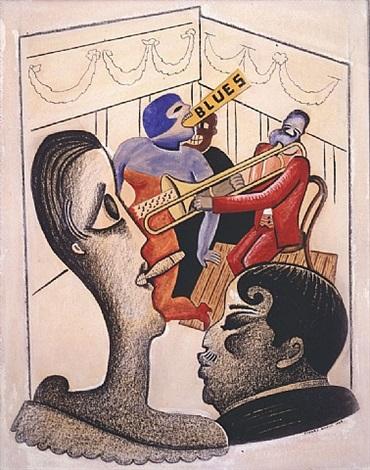 the blues by stuart davis