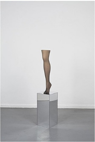 untitled (long leg) by josephine meckseper