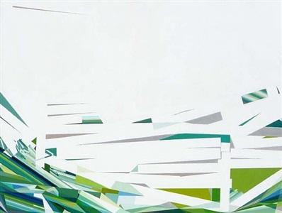 the utopian tense of green #4 by mariángeles soto-díaz