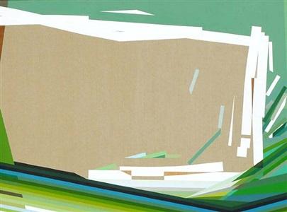 the utopian tense of green #12 by mariángeles soto-díaz