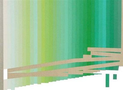 the utopian tense of green #20 by mariángeles soto-díaz