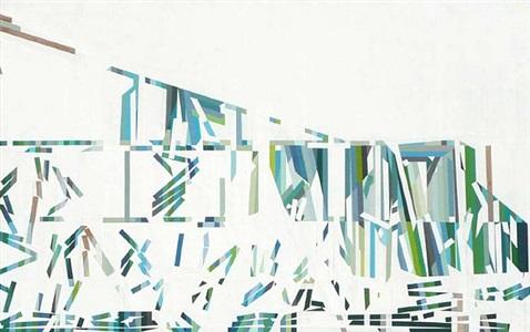 the utopian tense of green #21 (collapse) by mariángeles soto-díaz