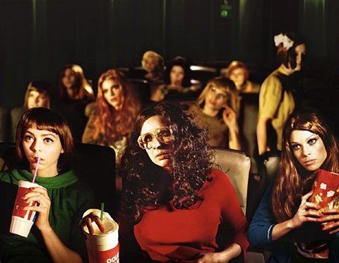 rachel and friends, from weekend by alex prager