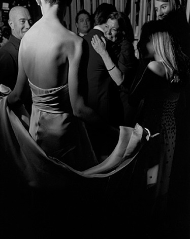 oscar party, katie holmes, los angeles, february, 2007 by larry fink