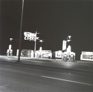 hudson, amarillo, texas, from five views from the panhandle portfolio by ed ruscha