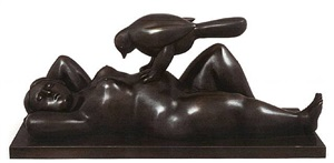 the dream by fernando botero