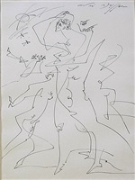 poursuites by andré masson