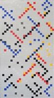 inch squares no. 3 by leon polk smith