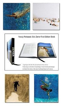 deluxe edition book and mixed media resin by eric zener