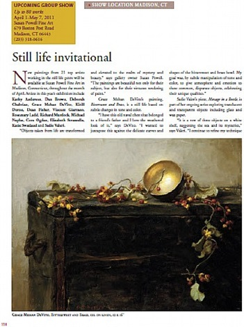 american art collector - april article, page 118
