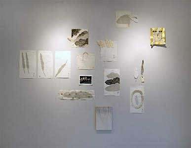 exhibition view by elena del rivero