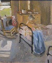 the bedroom by fairfield porter