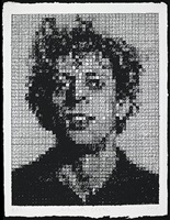 phil crosshatch by chuck close