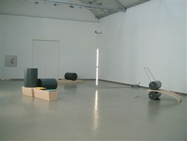 exhibition view by ângela ferreira