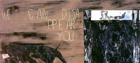 dissappear you by leon golub