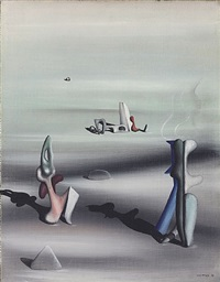 sans titre (repondre) by yves tanguy