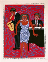 mama can sing: you put the devil in me by faith ringgold