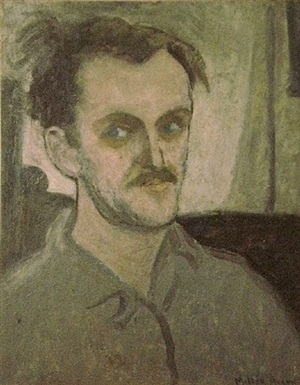 untitled (self portrait) by milton avery