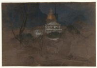 capitol building by everett shinn