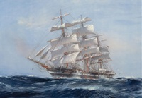 the new zealand clipper ship piako by jack spurling