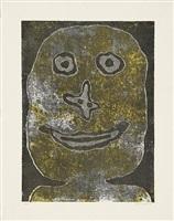 jean dubuffet, sourire ii (lächeln ii) by jean dubuffet