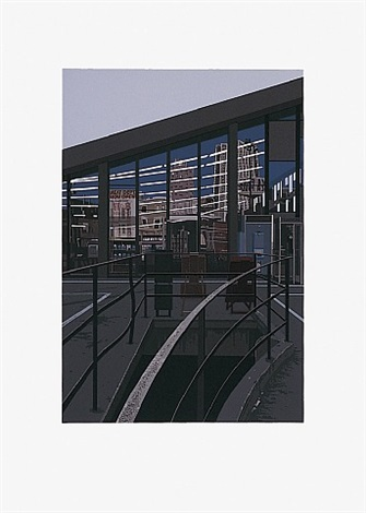 supermarket san francisco (aus portfolio 'urban landscape ii') by richard estes