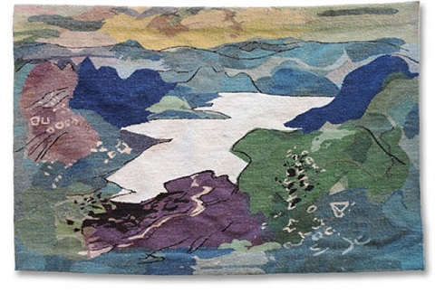 llyn teifi (tapestry) by john piper