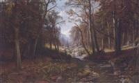 waldlichtung by adolfo felice müller-ury