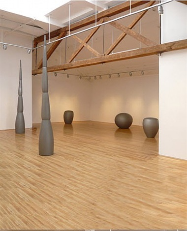 new sculpture/towers and elliptical forms by jene highstein