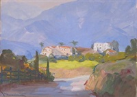 southern california landscape by jean mannheim