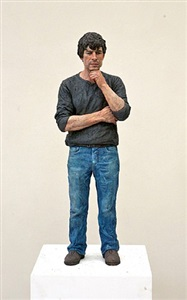 untitled (blue jeans) by sean henry