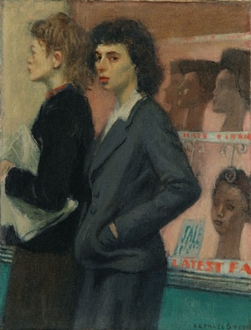 passersby by raphael soyer