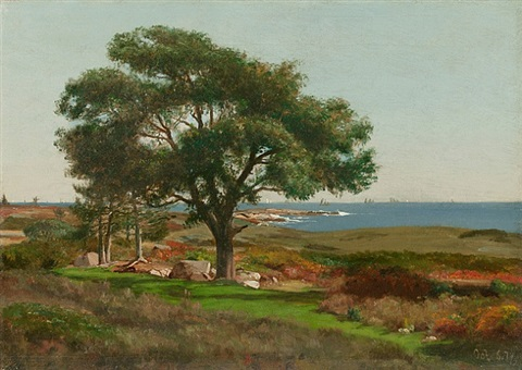 near kennebunkport, maine by jervis mcentee
