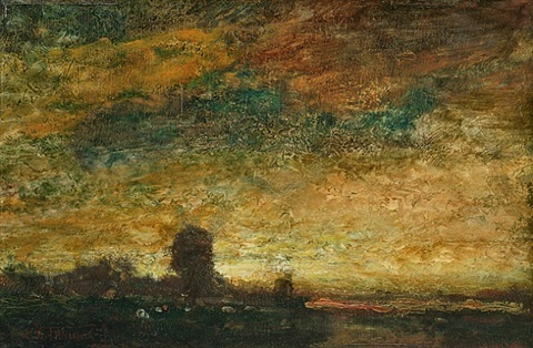 atmospheric landscape by ralph albert blakelock