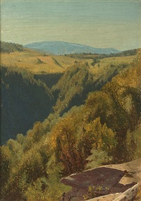 summer hills, hunter mountain by jervis mcentee