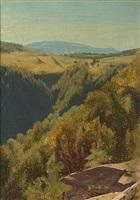 summer hills, hunter mountain by jervis mcentee
