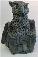 hibou-roc by jean paul riopelle